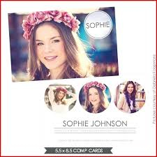 Comp Card Template With Best Of Model P Free Fresh Zed