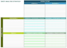 Business Plan Excel Template Free Download Swot Template Free Download Iso Certification Co