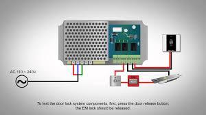 electromagnetic door lock wiring diagram electromagnetic fingertec adaptec plus installation guide iii activating the door on electromagnetic door lock wiring diagram