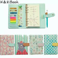 K&KBOOK KK008 <b>Creative</b> Leather <b>Notebook</b> A5 <b>A6</b> Loose Leaf ...