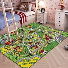 rug non slip backing large kid rug for toy rug carpet with non slip backing car