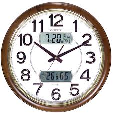 wall clocks for office. Sima Xiangru Wall Clock Living Room LCD Display Electronic Clocks Solid  Wood European Office Bedroom Home Quartz Creative Mute For Office