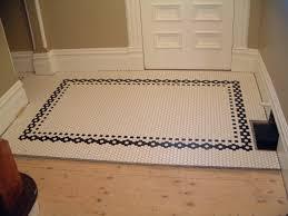 floor tile borders. Black And White Hexagon Floor Tile Borders F