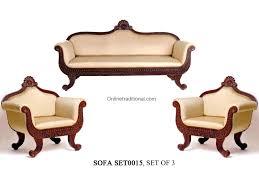 Royal Sofa Set Designs In India Antique Craved Teak Wood Sofa Set Wooden Sofa Designs