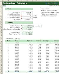 sample schedules loan amortization schedule excel free balloon loan calculator for excel