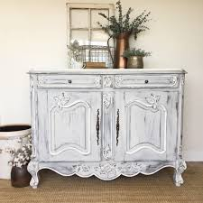 white furniture shabby chic. Antique Sideboard Buffet, French Country Furniture, White Buffet Cabinet, Louis XV, Shabby Furniture Chic L
