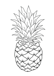 Fruits Coloring Pages Printable Colour Colouring To Print Free ...