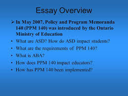 ppm incorporating methods of applied behaviour analysis aba  2 essay
