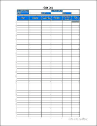 Free Mileage Log Template Form Sheet For Taxes Themansmirror Co