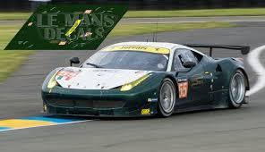 Ferrari 458 Italia - Le Mans 2016 nº55 - LEMANSDECALS