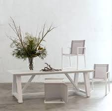 white wicker outdoor dining sets chairs australia table powder coated aluminium decorating
