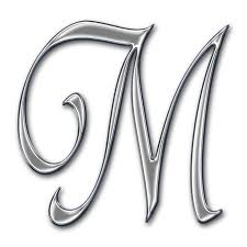 fancy letter m letters hd png transparent letters hd png images pluspng