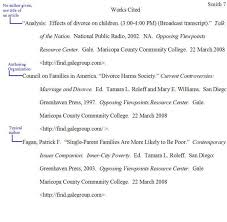 Essay Examples Works Cited Mla In Text Citations Pages How