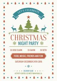 Work Christmas Party Flyers Party Flyers Design Your Own Party Flyers Online Fotojet