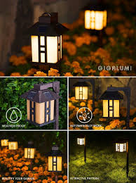 Gigalumi Solar Powered Path Lights Modern Outdoor Lights Are Not Just For Providing Safety And