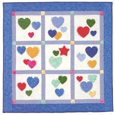 Baby-quilt designs: easy, easier, easiest - Stitch This! The ... & ... Family Hearts baby quilt Adamdwight.com