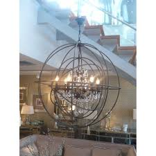 to view larger image and more views metal sphere chandelier