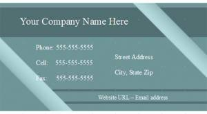Office Visiting Card Open Office Business Card Template Lovetoknow