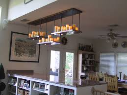 furniture gorgeous pillar candle rectangular chandelier