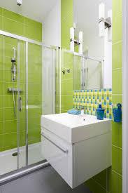 captivating green bathroom. Vivacious Polish Apartment Captivating Green Bathroom B