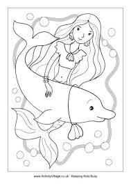 Mermaids Mermaid Coloring Pages Mermaid Colouring Page 3 Home