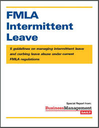 Light Duty Doctors Note Example Fmla Intermittent Leave 5 Guidelines On Managing Intermittent Leave