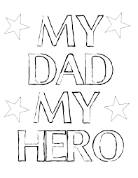 coloring pages for dads birthday printable happy signs free party cake topper i love my daddy