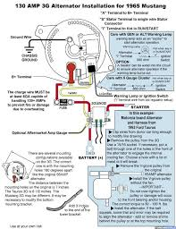 what to use for alternator conversion? ford muscle forums ford Bc Alternator Wiring Diagram click image for larger version name 3ginstall jpg views 803 size 131 5 corsa b alternator wiring diagram