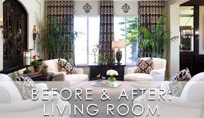 Modern Traditional Living Room Modern Traditional Living Room Before And After