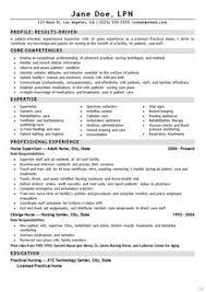 Examples Of Lpn Resumes 9 Best Lpn Resume Images Lpn Resume Nursing Resume