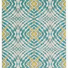 blend rug in teal design by bd fine