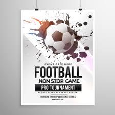 soccer team brochure template football soccer game tournament flyer brochure template download
