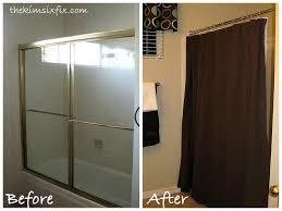 curtain over doorway shower curtain over sliding glass doors modern ideas removing sliding glass shower doors