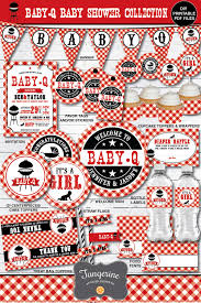 Baby Q Banner, Baby Q Decorations, BBQ Baby Shower Decorations, Couples bbq  Baby