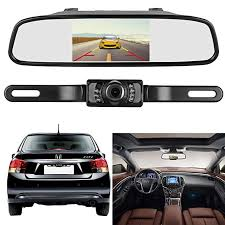 Amazon.com: Emmako Backup Camera and 4.3'' Mirror Monitor Kit For ...