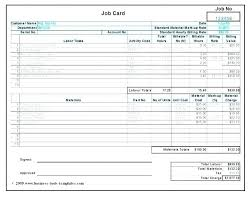 Computer Repair Price List Template Technician Job Card