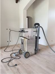 scf s dust containment system used when refinishing clients hardwood floors