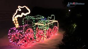 3d Christmas Train Lights 95 Cm Large 3d Train With Flashing Wheel And Smoke Rope