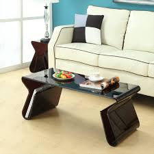 Style Coffee Table Rashid Style Coffee Table With Magazine Holder Multiple Colors