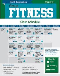Hws Group Exercise Schedule
