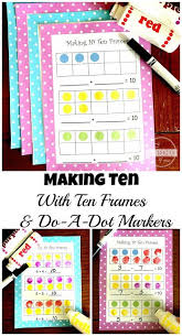 free making 10 practice with ten frames make 10 fun and easy for prek