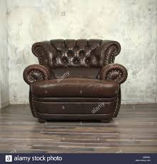 Old Recliner Chair Stock Photos Old Recliner Chair Stock