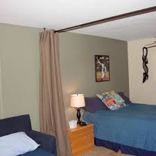 old bedroom divider curtains design room brown polished curtain rod in beige ds as beige walls