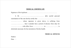 Example Of Medical Certificate Letter Joele Barb