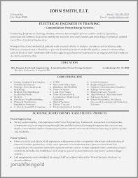 Electrical Engineering Resume Examples Best Resume Examples Mechanical Technician Awesome Electrical Engineer