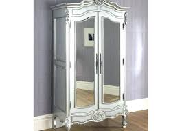 armoires white mirrored armoire mirrored wardrobe mirrored wardrobe on wood flooring and white mirrored wardrobe