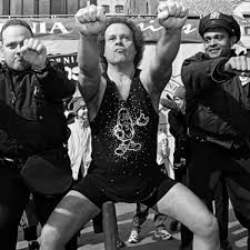 richard simmons high school. as a teenager, the 268-pound richard simmons took on series of unhealthy high school