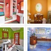 Modern Bathroom Bathroom Colorful Bathroom Design Ideas Colorful Colorful Bathrooms