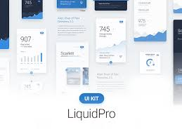 Liquidpro Ui Kit Free Download 72pxdesigns