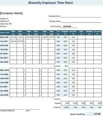 Time Sheet Doc Daily Time Record Free Template Timesheet Template